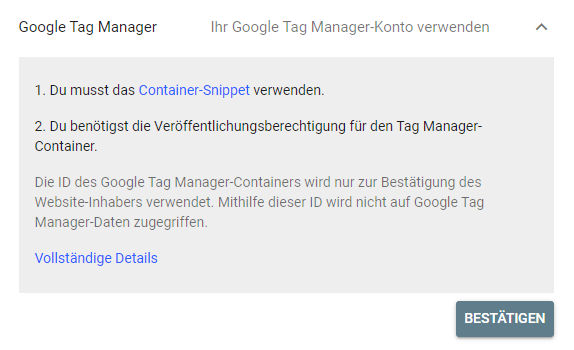 google-console-google-tag-manager