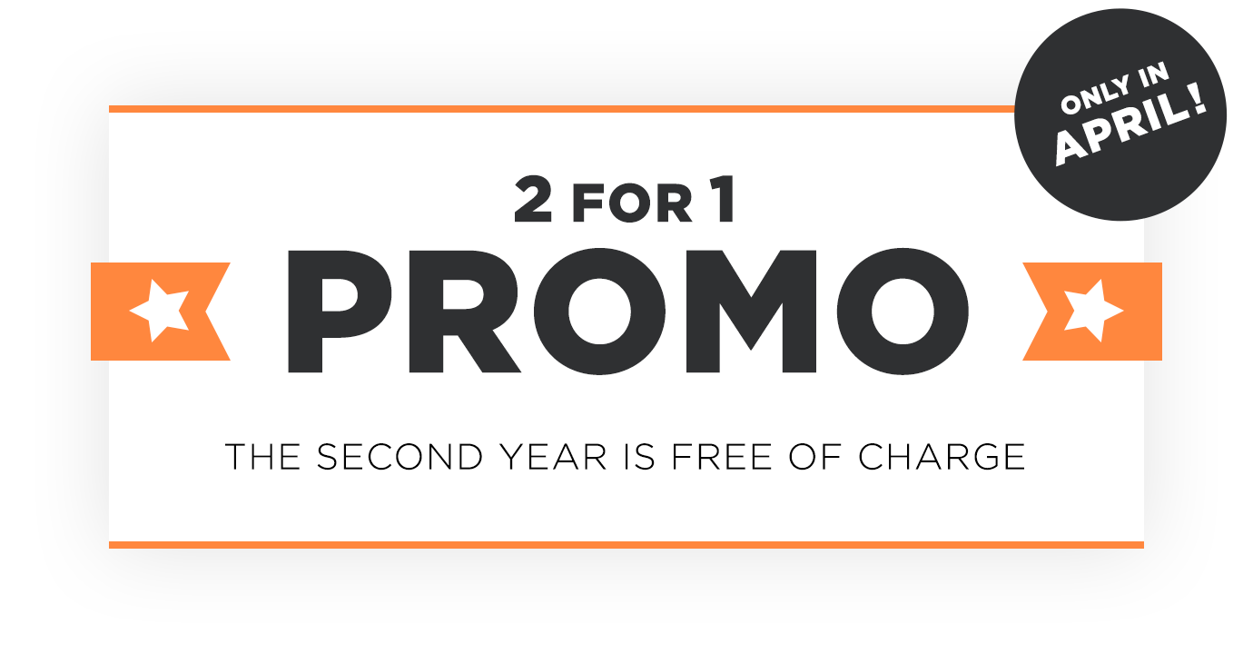 2 for 1 sales promotion