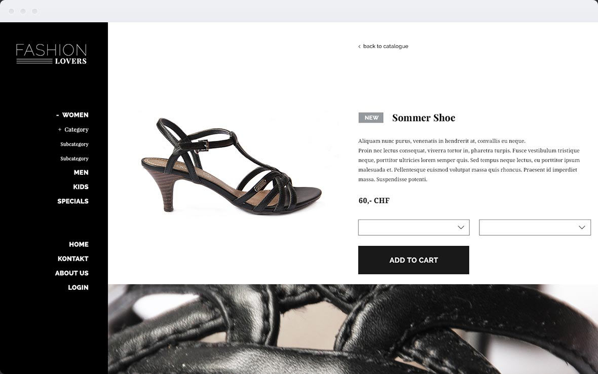 Screenshot Stylist Pro Shop-Design 3
