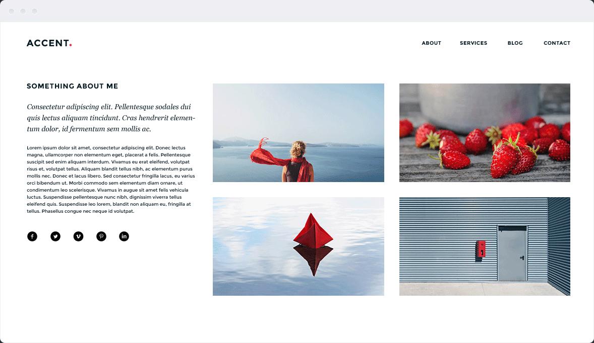 Screenshot Desktop Design Accent 2