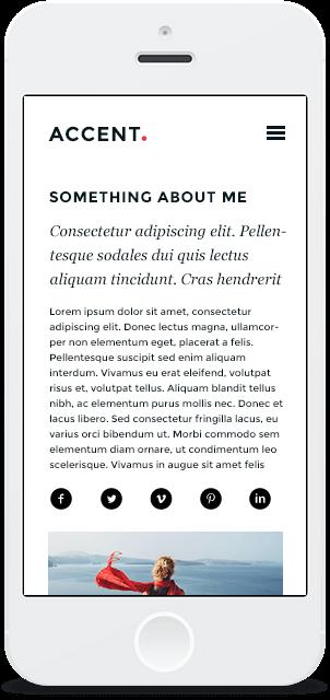 Screenshot Smartphone Design Accent 2