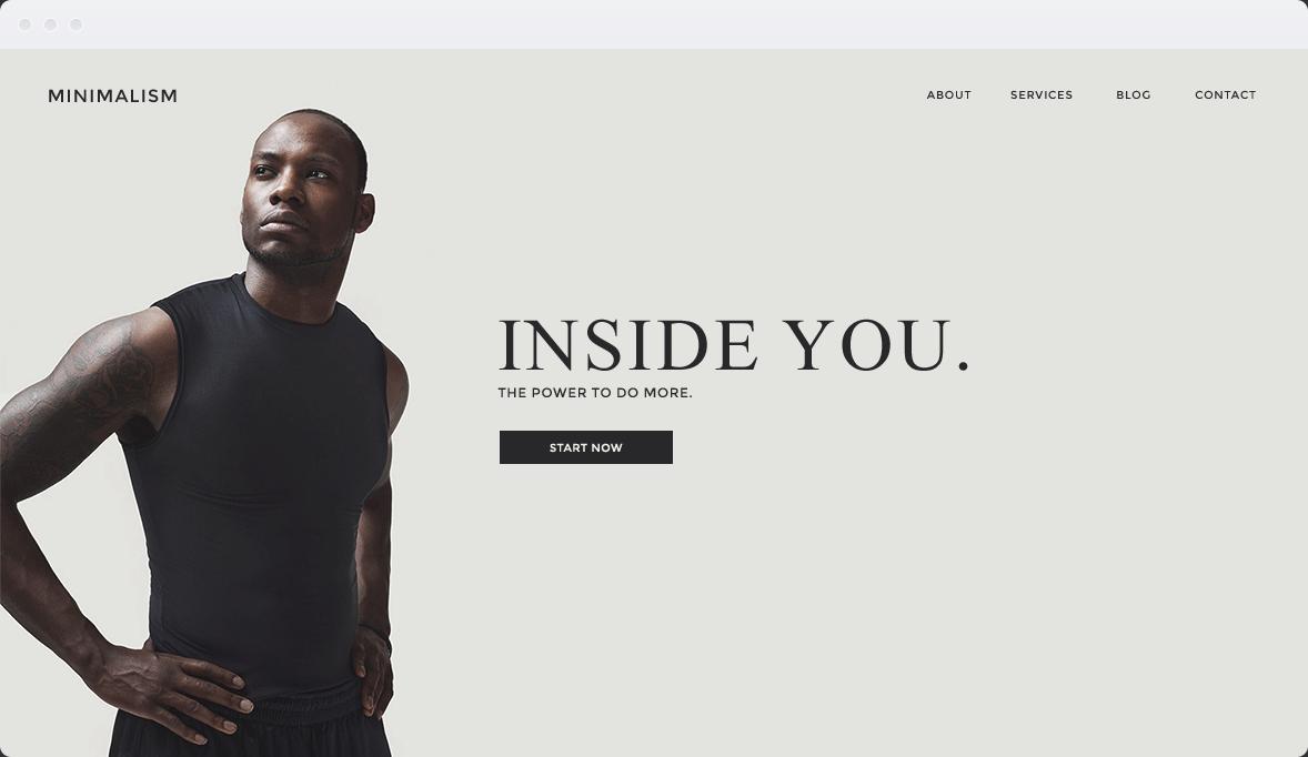 Screenshot Desktop Design Minimalism 1