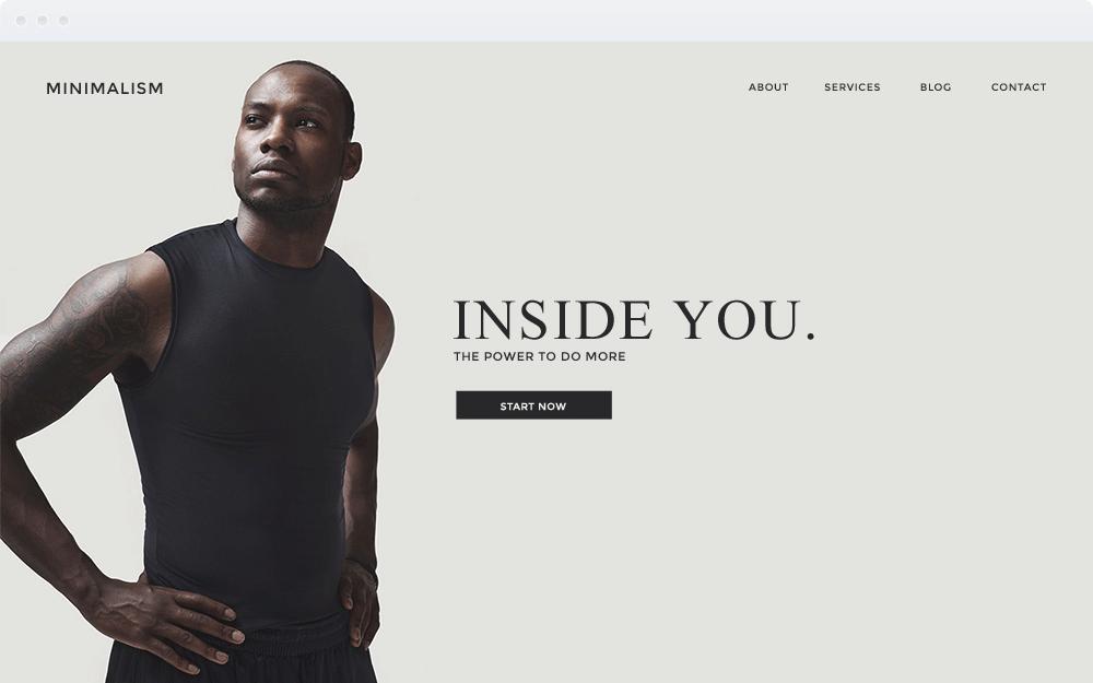 Screenshot Design Minimalism