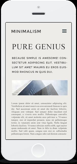 Screenshot Smartphone Design Minimalism 2
