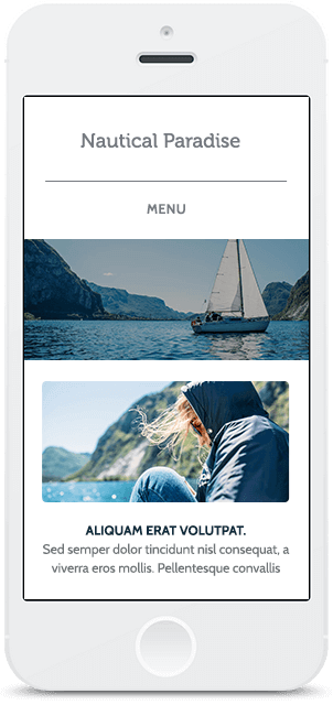 Screenshot Smartphone Design Nautical 1