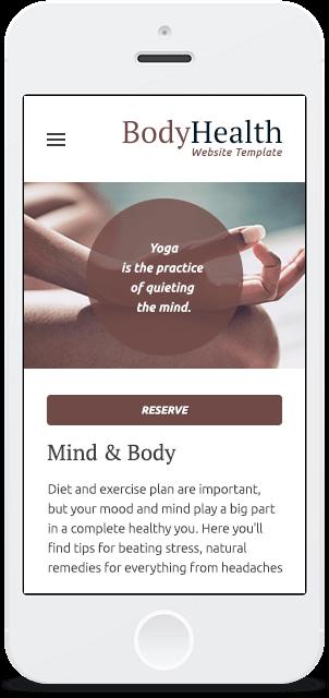 Screenshot Smartphone Design Body Health 1