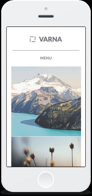 Screenshot Smartphone Design Varna 1