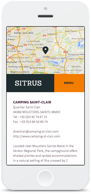 Screenshot Smartphone Design Sitrus 3