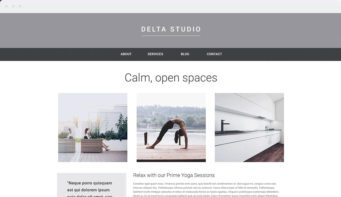Screenshot Desktop Design Delta Studio 2