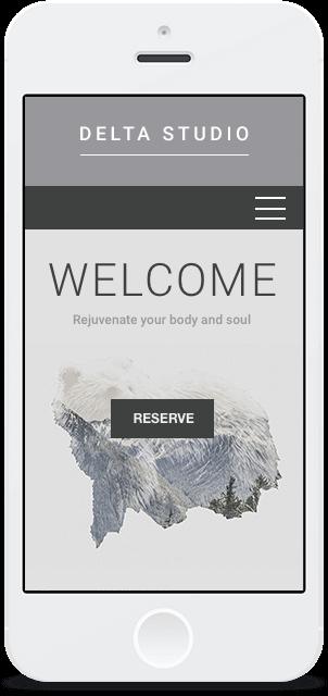 Screenshot Smartphone Design Delta Studio 1