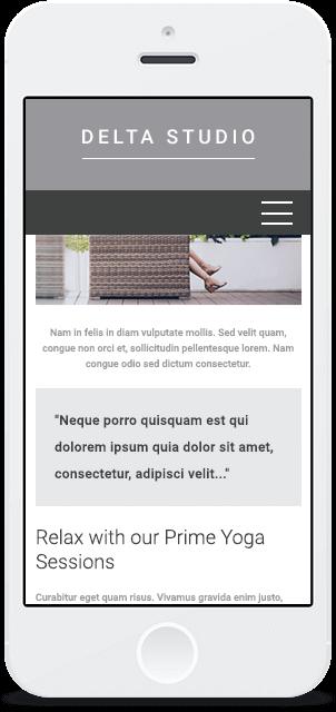 Screenshot Smartphone Design Delta Studio 2