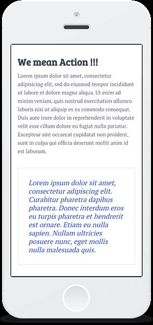 Screenshot Smartphone Design El Nido 2