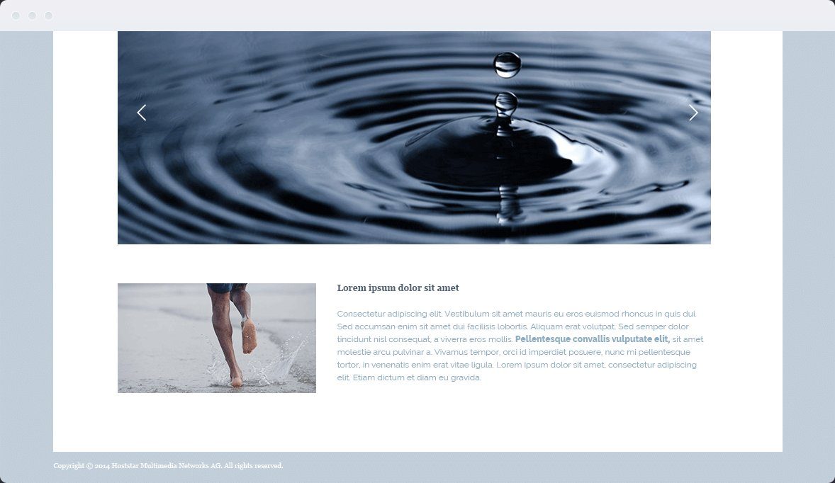 Screenshot Desktop Design Water & Wood 3