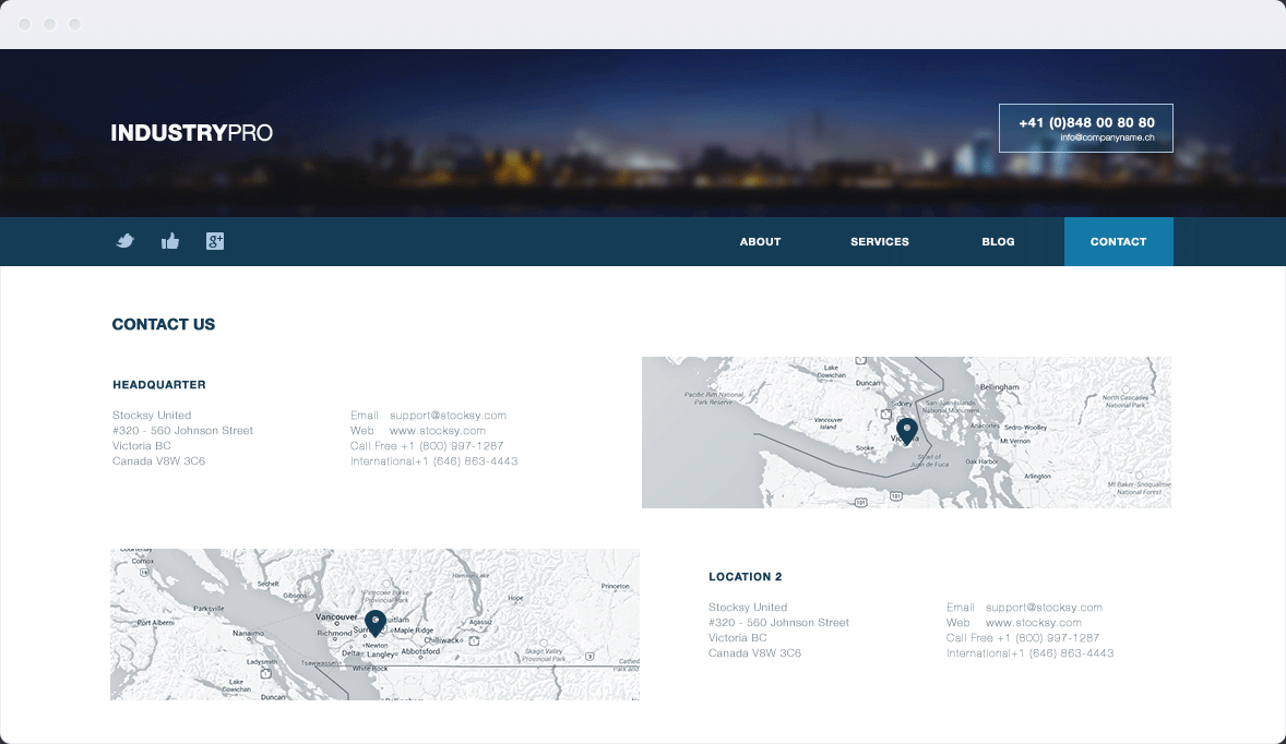 Screenshot Desktop Design Industrypro 2
