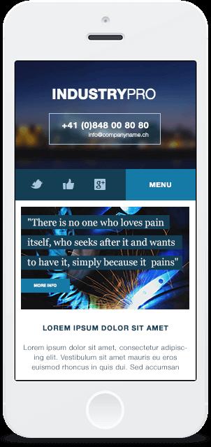Screenshot Smartphone Design Industrypro 1