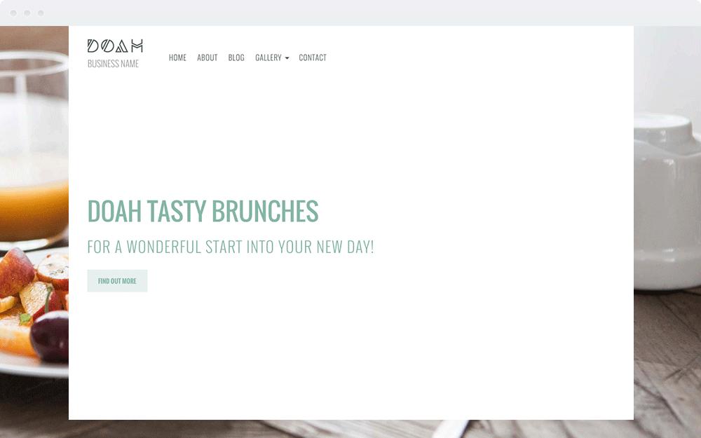 Screenshot Design DOAH