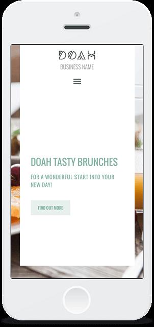 Screenshot Smartphone Design DOAH 1