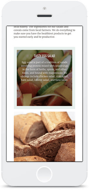 Screenshot Smartphone Design DOAH 2