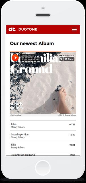 Screenshot Smartphone Design Duotone 3