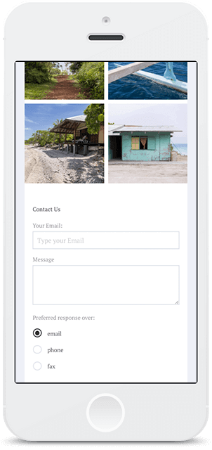 Screenshot Smartphone Design Agentour 2