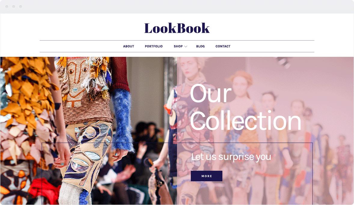Screenshot Desktop Design LookBook 1