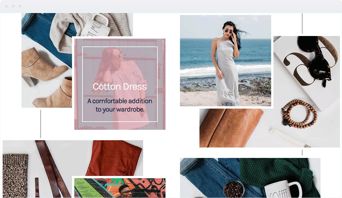 Screenshot Desktop Design LookBook 2