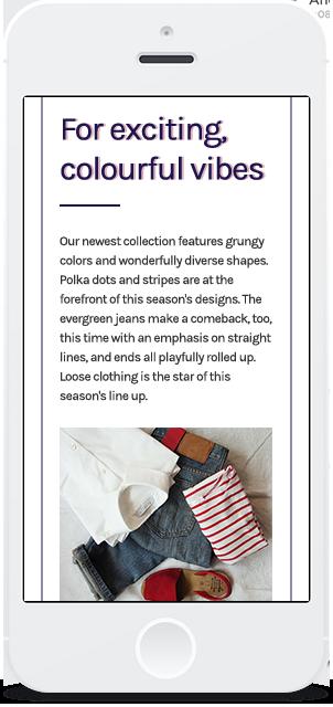 Screenshot Smartphone Design LookBook 3