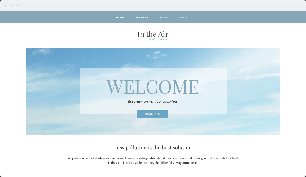 Screenshot Desktop Design In the Air 1