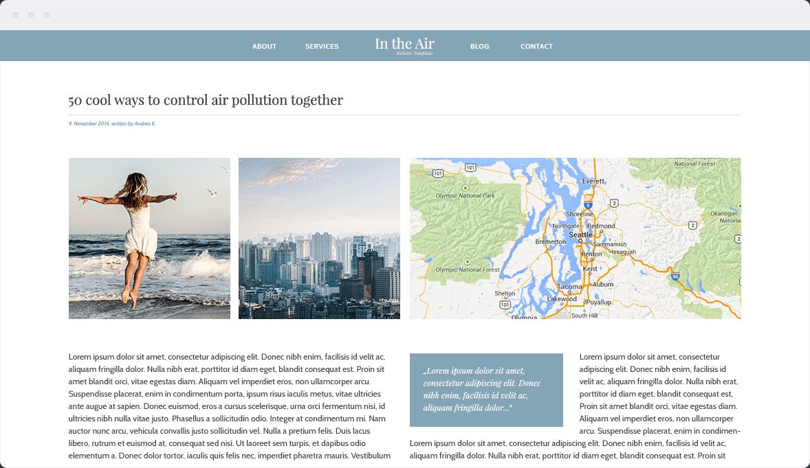 Screenshot Desktop Design In the Air 3