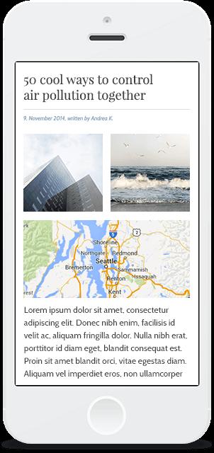 Screenshot Smartphone Design In the Air 3