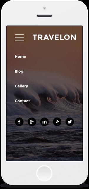 Screenshot Smartphone Design Travelon 1
