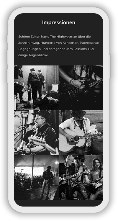 Music Template Mobile Screenshot 4