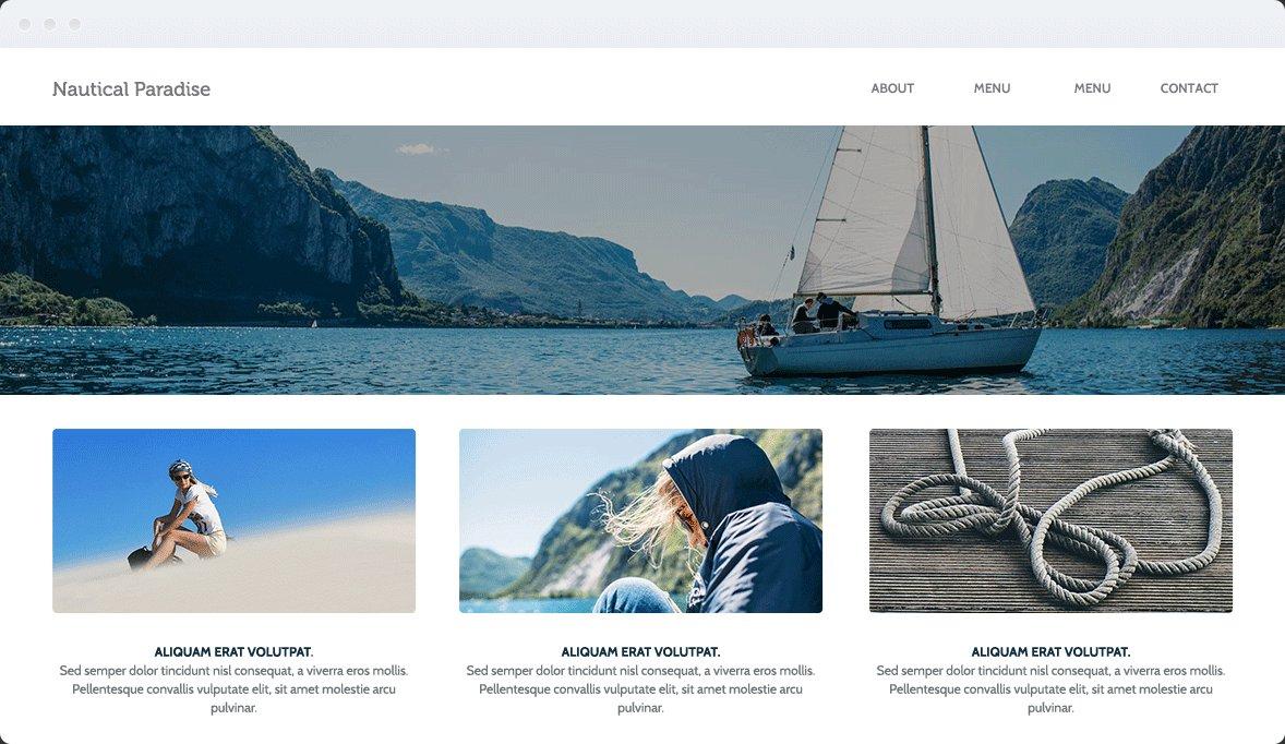Screenshot Desktop Design Nautical 1