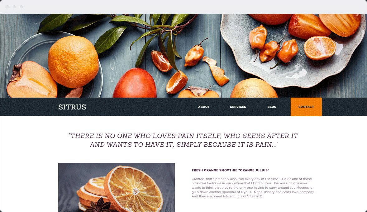 Screenshot Desktop Design Sitrus 1