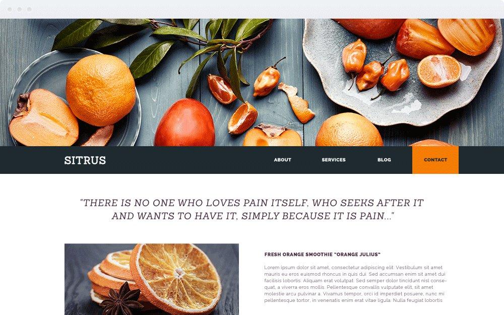 Screenshot Design Sitrus