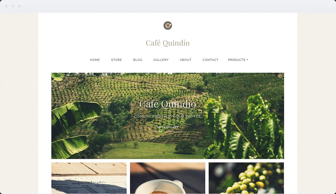 Screenshot Desktop Design Café Quindío 1