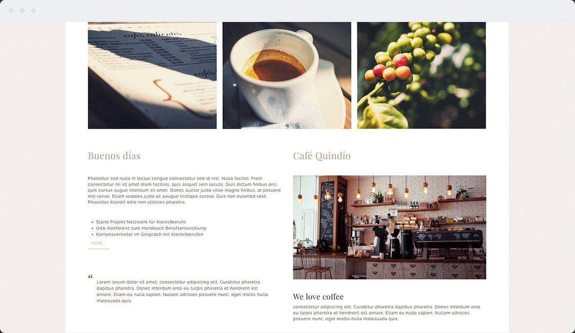 Screenshot Desktop Design Café Quindío 2