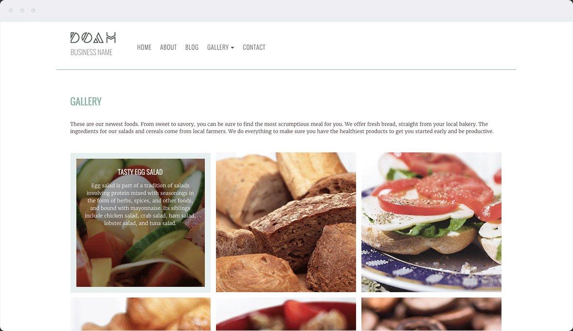 Screenshot Desktop Design DOAH 2