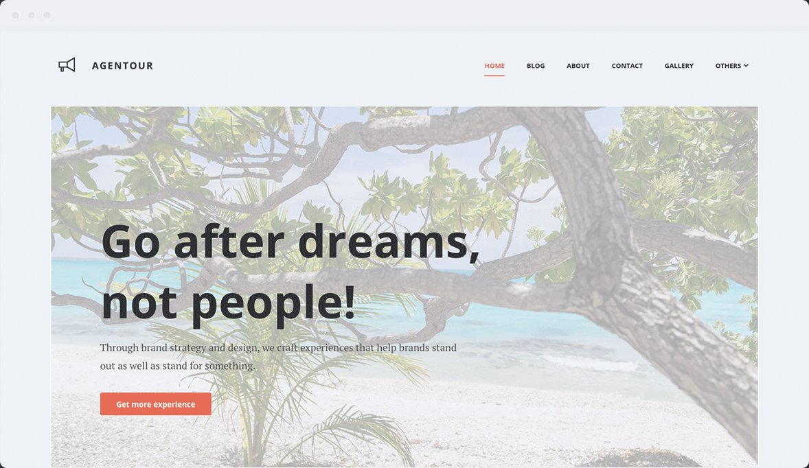 Screenshot Desktop Design Agentour 1
