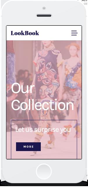 Screenshot Smartphone Design LookBook 1