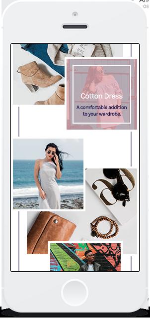 Screenshot Smartphone Design LookBook 2