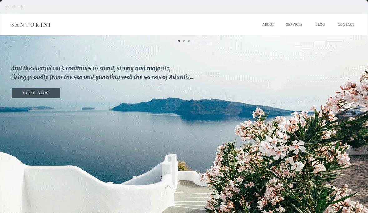 Screenshot Desktop Design Santorini 1