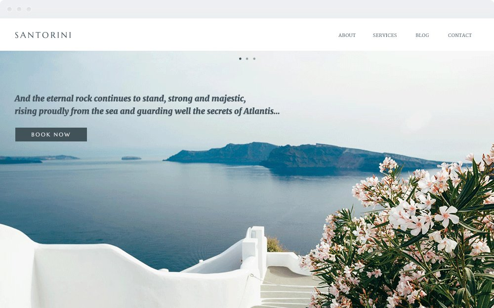 Screenshot Design Santorini