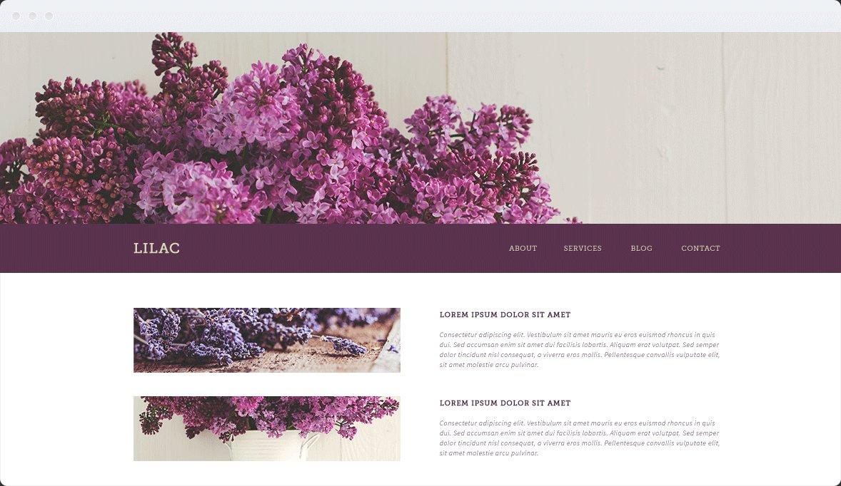 Screenshot Desktop Design Lilac 1