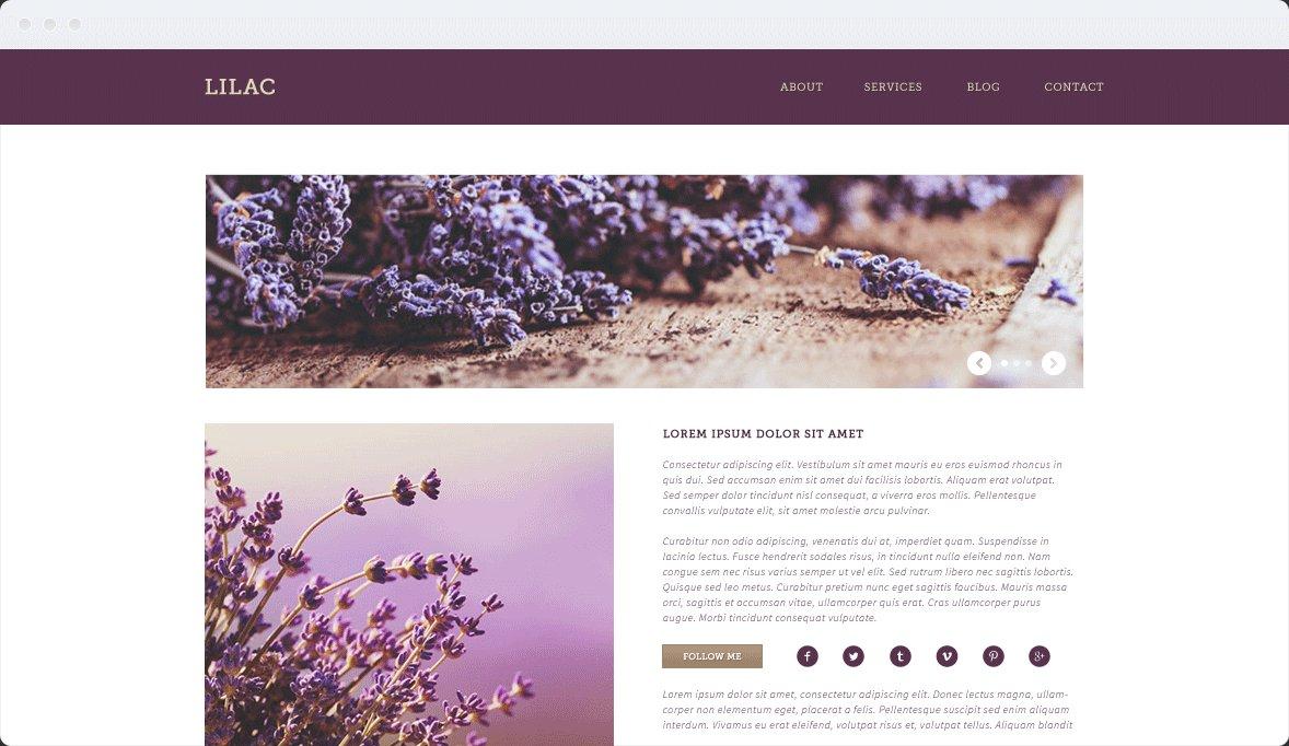 Screenshot Desktop Design Lilac 2