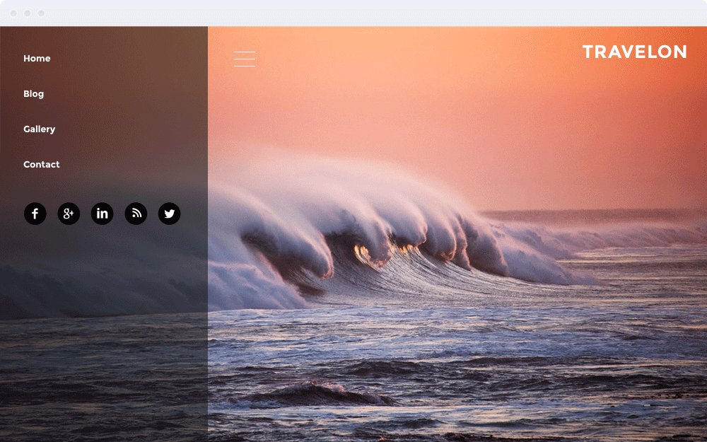 Screenshot Design Travelon