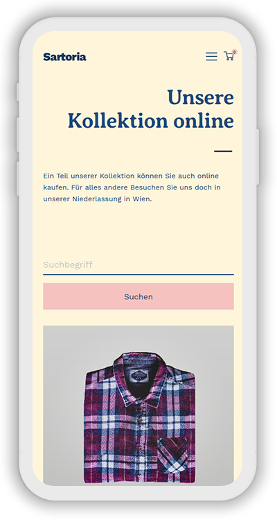 Fashion Template Mobile Screenshot 2