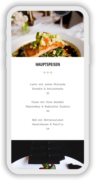 Restaurant Template Mobile Screenshot 2