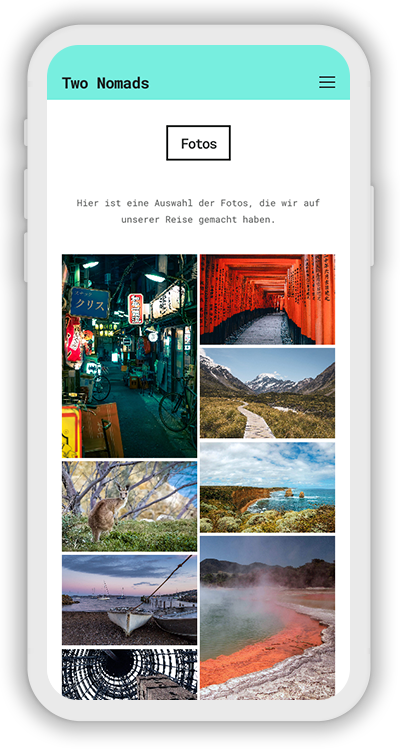 Travel Template Mobile Screenshot 3