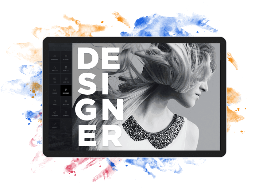Website-Designer Artwork